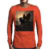 The dark unicorn Mens Long Sleeve T-Shirt