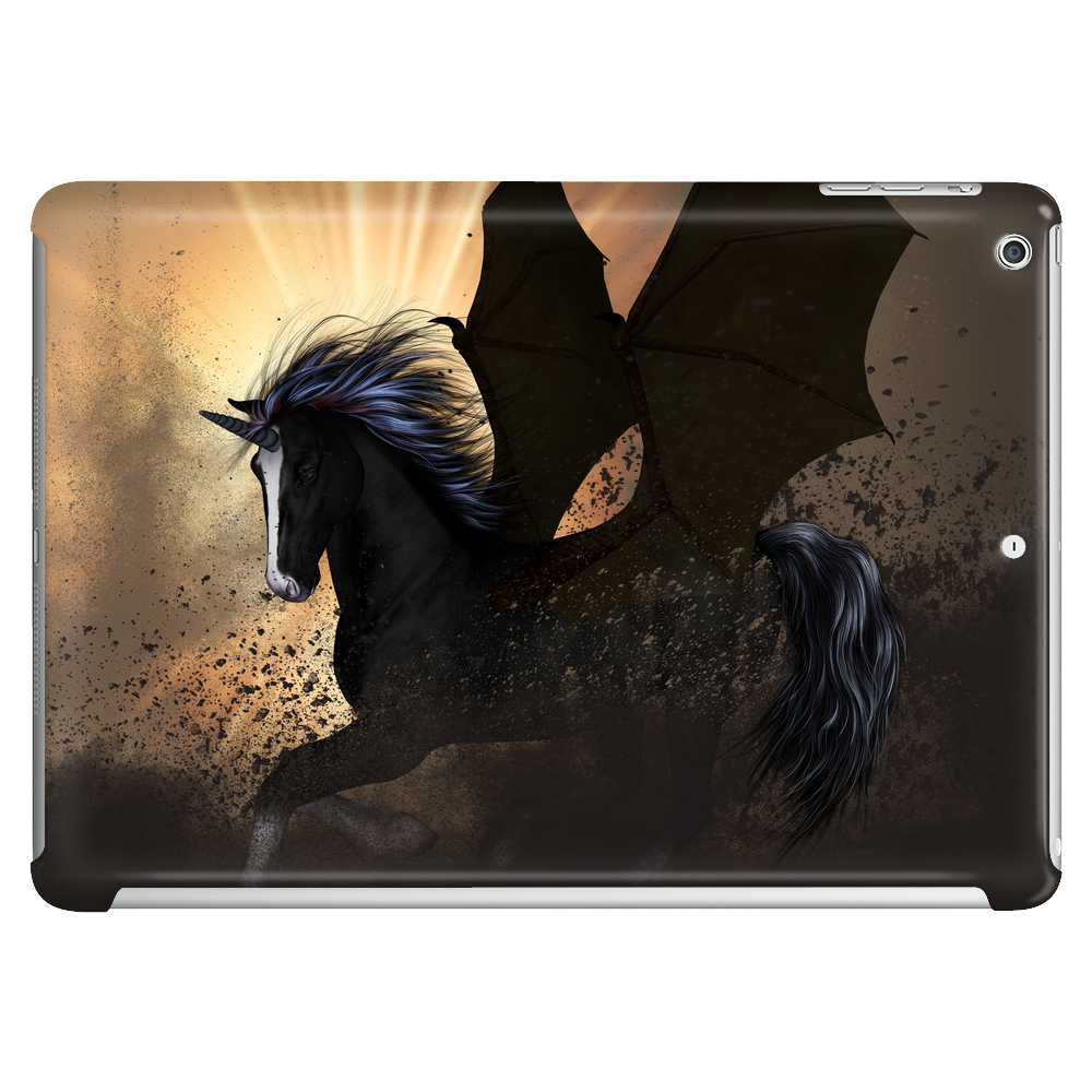 The dark unicorn Tablet (horizontal)