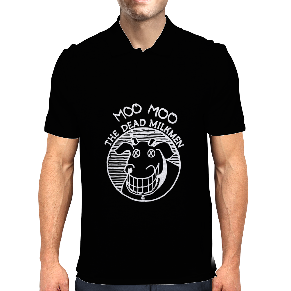 The Dead Milkmen Mens Polo