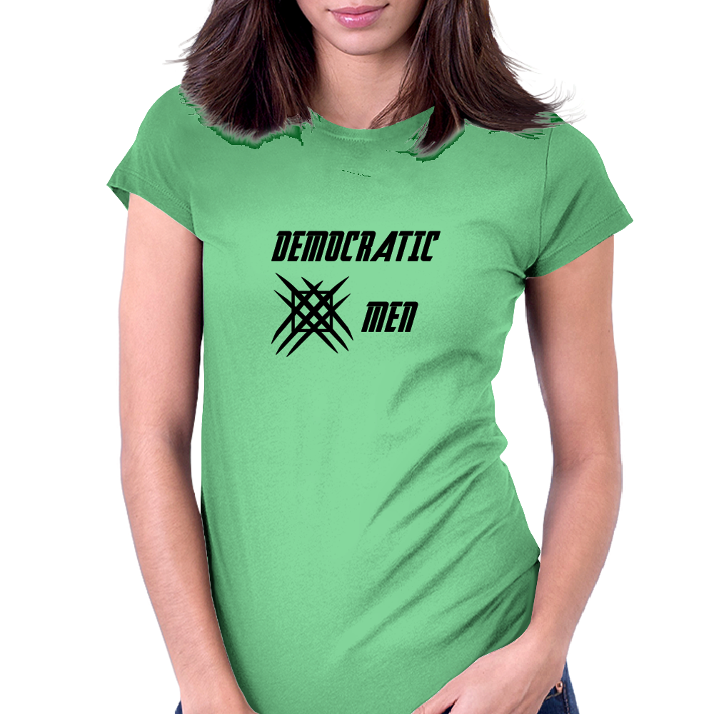 The Democratic X-Men Womens Fitted T-Shirt