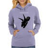 The Devil Put Dinosaurs Here Womens Hoodie