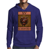 The Devil Tarot Card – number 15, Il Diavolo. Mens Hoodie