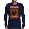 The Devil Tarot Card – number 15, Il Diavolo. Mens Long Sleeve T-Shirt