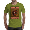 The Devil Tarot Card – number 15, Il Diavolo. Mens T-Shirt