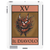 The Devil Tarot Card – number 15, Il Diavolo. Tablet