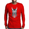 The Devil You Know Mens Long Sleeve T-Shirt