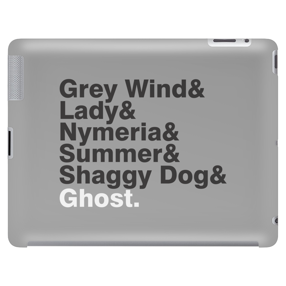 The Direwolves Tablet (horizontal)