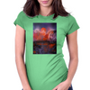 The Distant Storm Womens Fitted T-Shirt