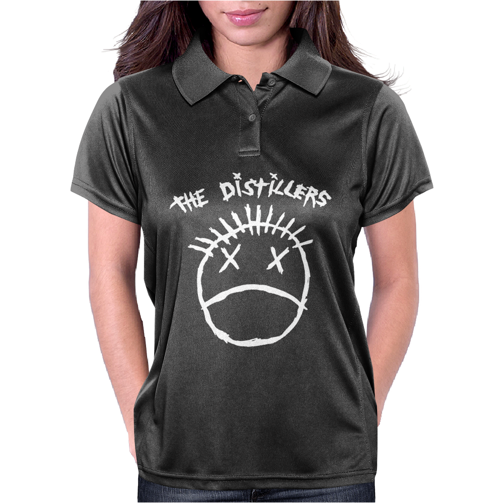 The Distillers Punk Rock Womens Polo