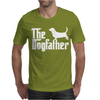 The Dogfather Basset Hound Mens T-Shirt