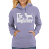 The Dogfather Basset Hound Womens Hoodie