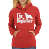 The Dogfather Cocker Spaniel Womens Hoodie
