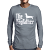 The Dogfather Dachshund Mens Long Sleeve T-Shirt