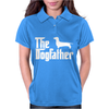 The Dogfather Dachshund Womens Polo
