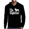 The Dogfather French Bulldog Mens Hoodie