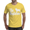 The Dogfather French Bulldog Mens T-Shirt