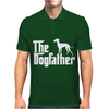 The Dogfather Italian Greyhound Mens Polo