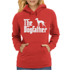 The Dogfather Italian Greyhound Womens Hoodie
