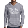 The Dogfather Poodle Mens Hoodie