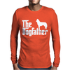 THE DOGFATHER Siberian Husky Swea Mens Long Sleeve T-Shirt