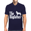 THE DOGFATHER Siberian Husky Swea Mens Polo
