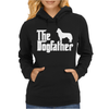 THE DOGFATHER Siberian Husky Swea Womens Hoodie