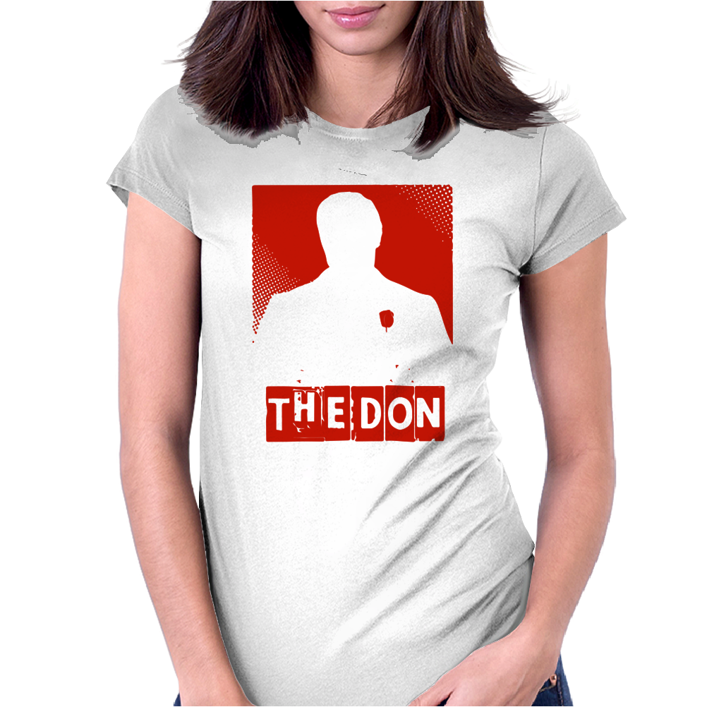 The Don Official Godfather Movie Womens Fitted T-Shirt