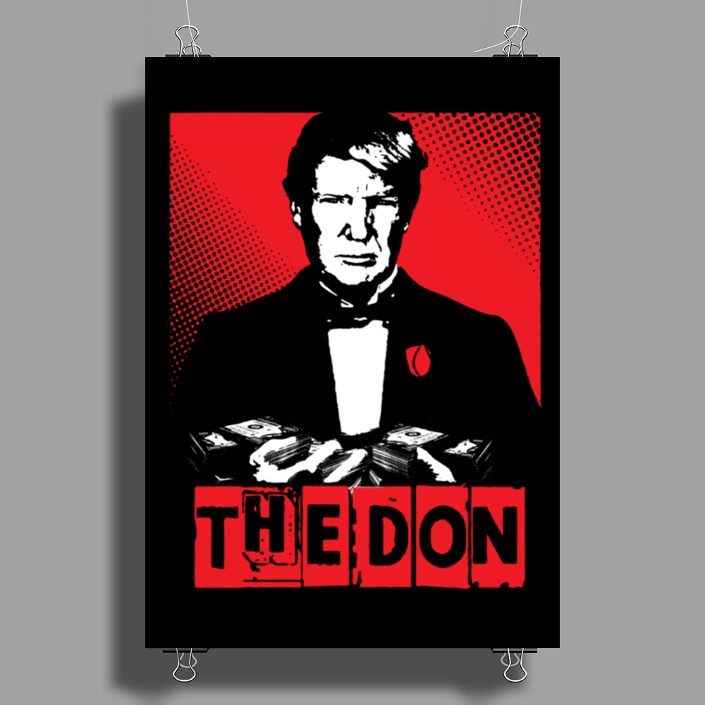 The Donald Poster Print (Portrait)