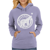 The Drunken Bear Bar Womens Hoodie