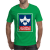 The Dude Abides Abide Big Lebowski Mens T-Shirt