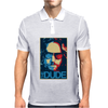 The Dude Abides Big Lebowski Abide Obama Poster Mens Polo