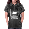 The Element Of Confusion Womens Polo