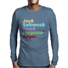 The Emotions Mens Long Sleeve T-Shirt