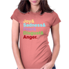 The Emotions Womens Fitted T-Shirt