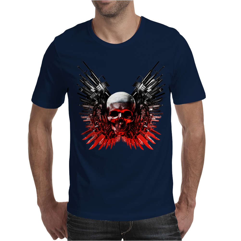 The Expendables 3 Stallone Statham Action Movie Mens T-Shirt
