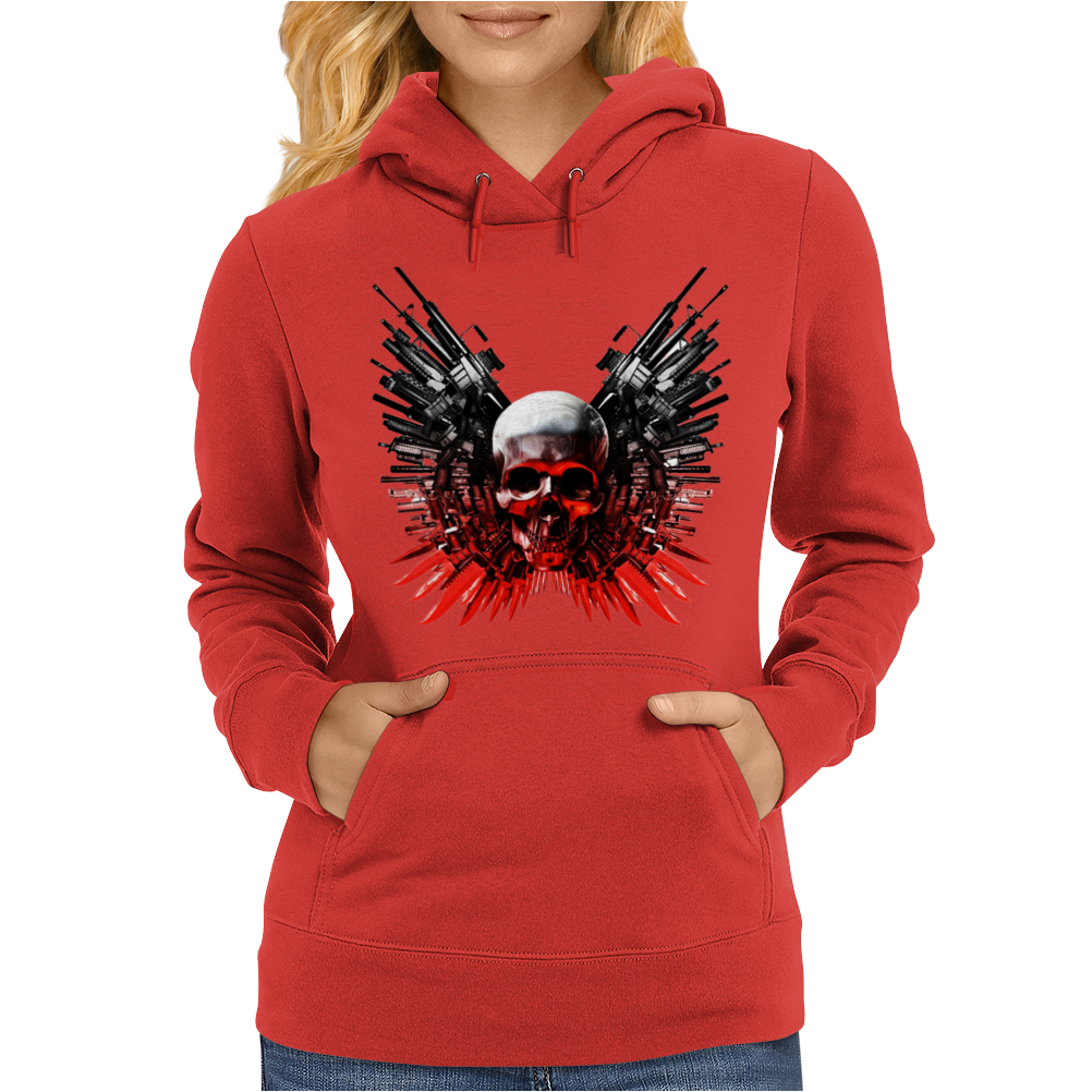 The Expendables 3 Stallone Statham Action Movie Womens Hoodie