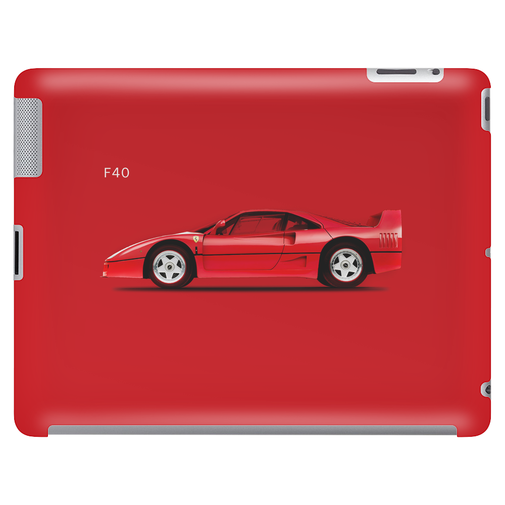 The Ferrari F40 Tablet (horizontal)