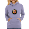 The fire within England Womens Hoodie