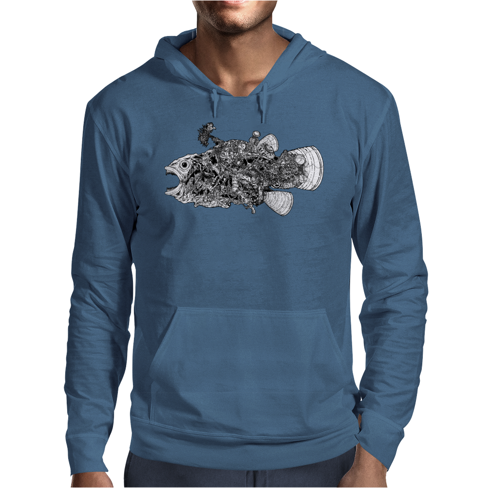 The Fish Mens Hoodie