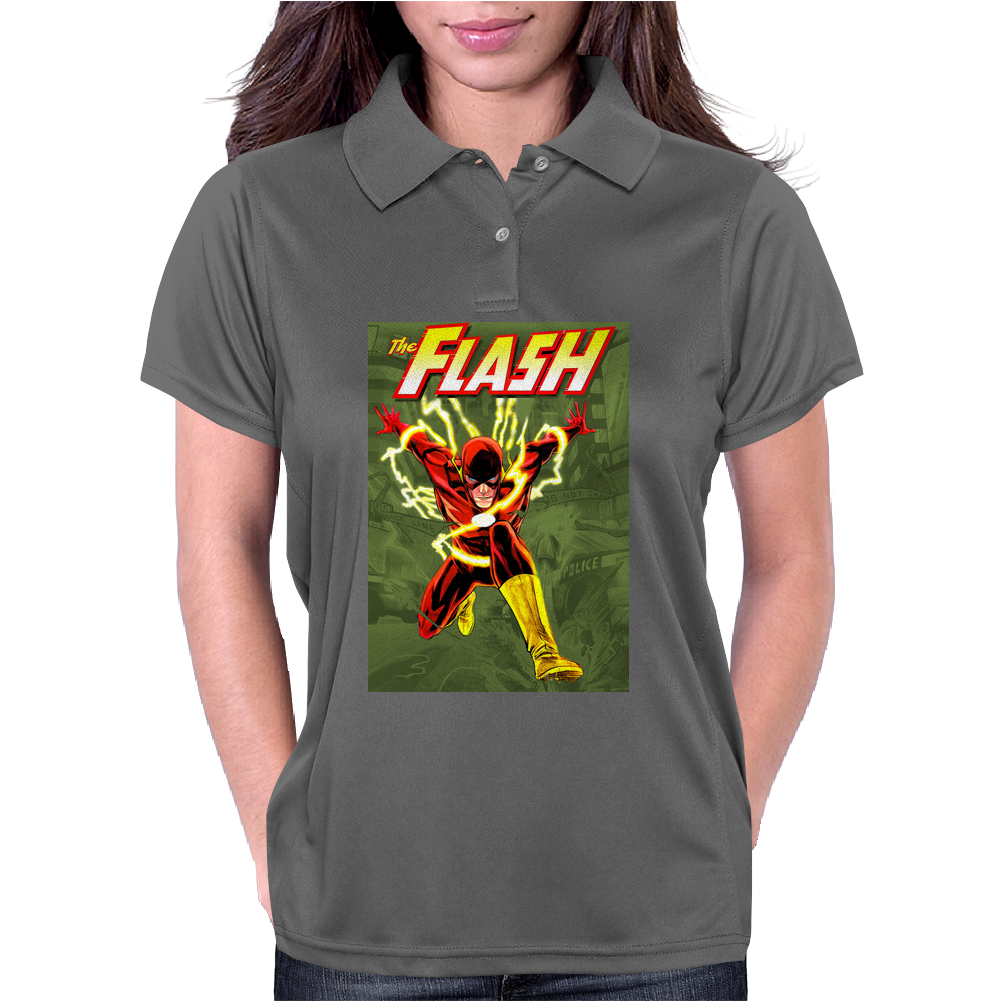 The Flash - Full Womens Polo