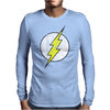 The Flash Grunge Original Mens Long Sleeve T-Shirt