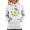 The Flash Grunge Original Womens Hoodie