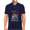 The Flight Of The Conchords - Binary Solo - Robots - The Humans Are Dead Mens Polo