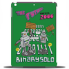 The Flight Of The Conchords - Binary Solo - Robots - The Humans Are Dead Tablet (vertical)