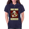The Fool Tarot Card – number 0. Womens Polo