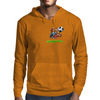 The Football Bear Mens Hoodie