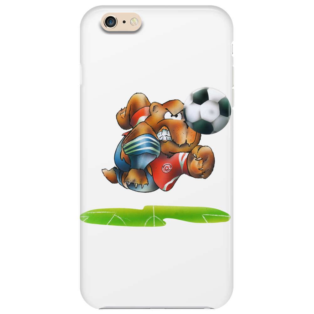 The Football Bear Phone Case