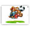 The Football Bear Tablet (horizontal)