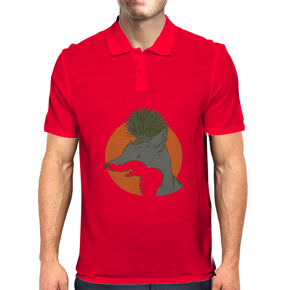 The fox and the hedgehog Mens Polo