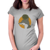 The fox and the hedgehog Womens Fitted T-Shirt